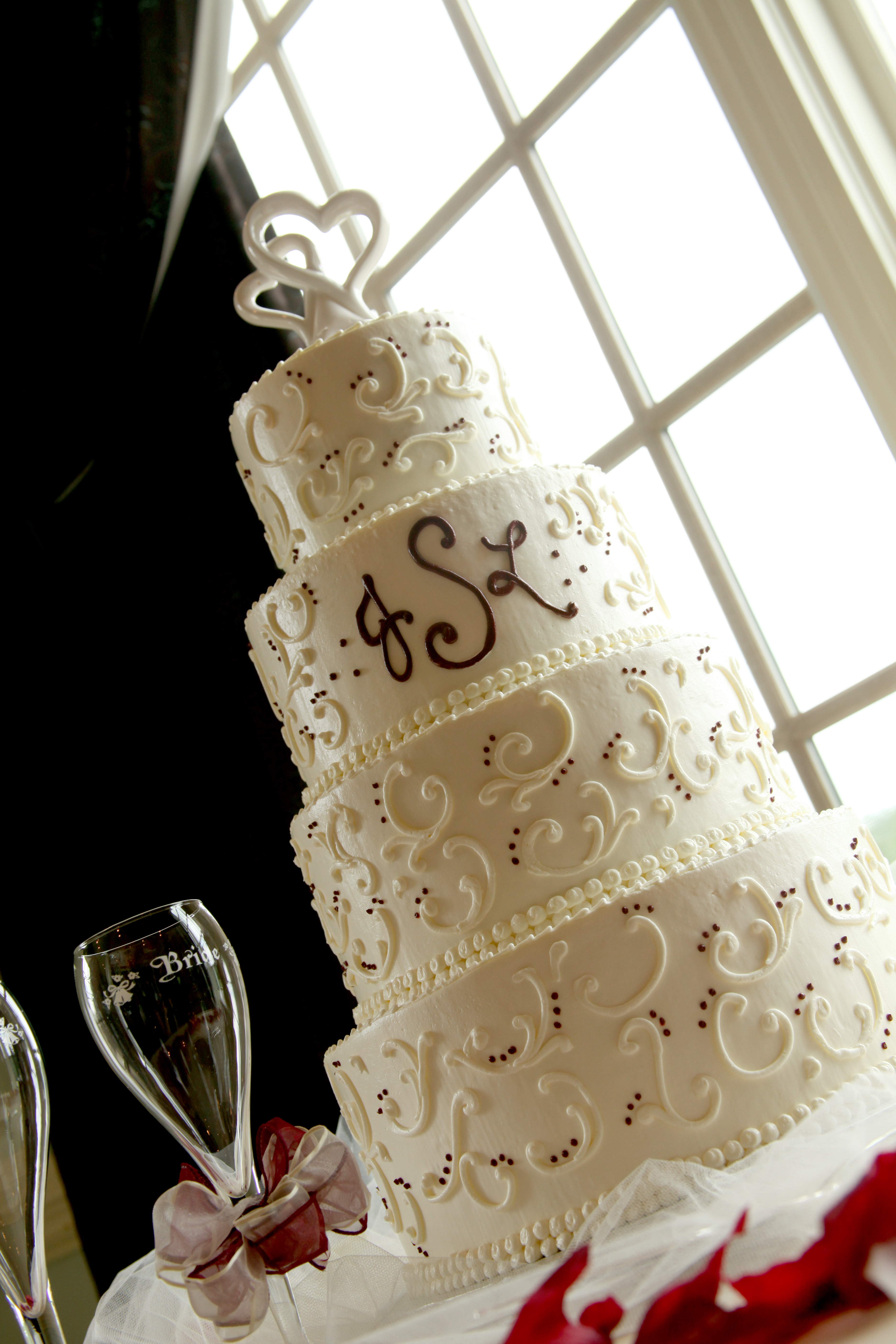 Events By Deb Wedding Cake