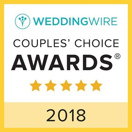 WeddingWire 2018 Couple Choice Award