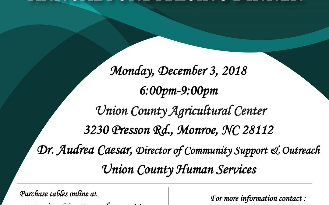 Union County Crisis Assistance Ministry Annual Meeting